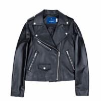 lambskin rider jacket (WOMAN) (Black)_(731910)