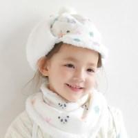 [베베누보] 스노우햇/아기모자_폭스킹