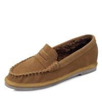 kami et muse Boa fur stitch fancy loafers_KM17w179