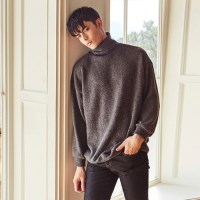 OVERFIT TURTLENECK MTM (CHARCOAL)