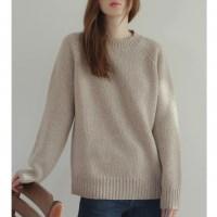 basic wool knit top