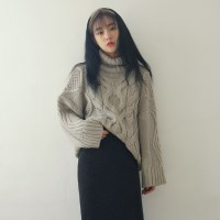 Queens turtleneck knit