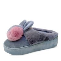 kami et muse 6cm tall up drop fur slippers_KM17w182