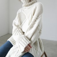 Dia top turtleneck knit