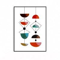 추상화 인테리어그림 액자 기하학 현대미술