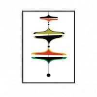 예쁜 거실그림액자 인테리어 포스터 현대미술