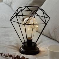 스파클링 LED 무드등 [블랙] (건전지타입/취침등)_(1480916)
