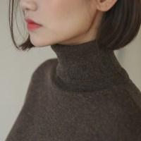 cashmere turtle neck knit