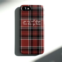 CHECK CUSTOM CASE (Tartan)