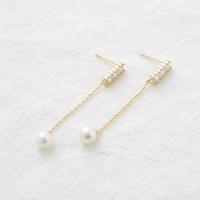 gold pearl drop