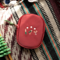 NAIL CLIPPER POUCH_winter red