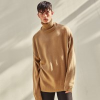 PAUL OVERSIZE TURTLENECK KNIT (BEIGE)