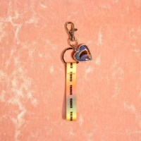 HEART STRAP KEY HOLDER_DOLPHIN
