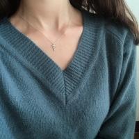 [위시주얼리] Key necklace (실버 열쇠 목걸이)