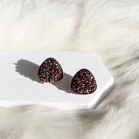 [vintage] raspberry earring