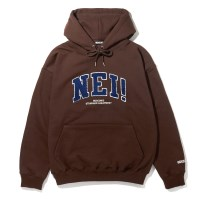 NEI NAPPING HOODIE / BROWN
