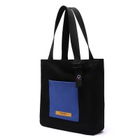 [로아드로아] COLOR BLOCK SHOULDER BAG (BLACK)_(746775)