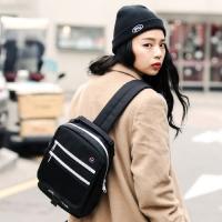 [로아드로아] POCKET COVER SLING BAG (BLACK)_(746719)