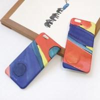 phone case 동그라미 red/blue