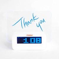 무아스 LED 메모보드 클락 - 감성적인 한마디를 남기자!