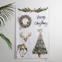 [Fabric] Happy Christmas All in1 Cut (크리스마스 컷트지)