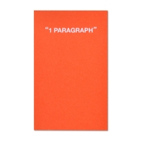 1 Paragraph Softcover-Fresh Orange