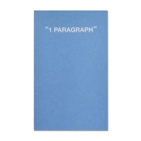 1 Paragraph Softcover-Ocean Blue