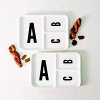 ABC 사각나눔접시 2p