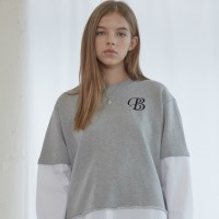Grey Combi Sweat Shirts