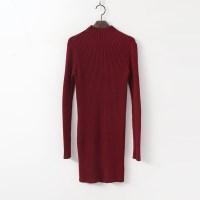 Warmer Knit  Mini Dress