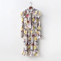 Flower Ruffle Dress