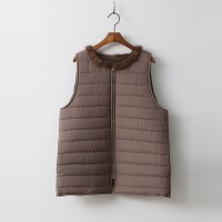 New Mink Puffer Vest