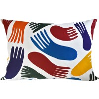pillow cover colorful Jellyfish by Jessica Nielsen