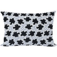 pillow cover crow by Jennifer Bouron
