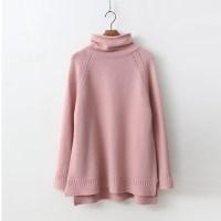 Cashmere Wool Roll Turtleneck Knit
