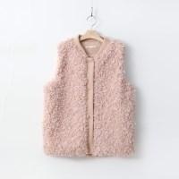 Teddy Echo Fur Vest