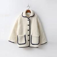 Preppy Shearling Coat