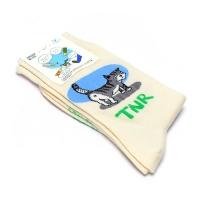 [Organic cotton] stray cat TNR (blue)