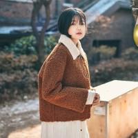 솜사탕 덤블 코트