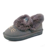 kami et muse Cats embroidery fur shoes_KM17w272