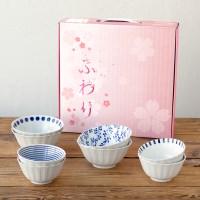니코트 밥공기, 국그릇 4인 선물세트 JAPAN