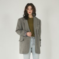 wool classic over fit jacket