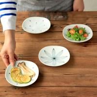 니코트 블랙 에가와리 접시 12cm JAPAN