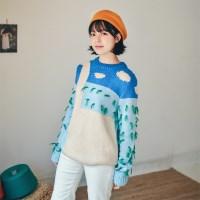 테슬 그라스 스웨터