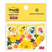 3M 포스트잇 마리몬드 노란장미 플래그 670-MA