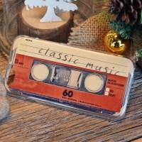 빈티지 카세트 테이프 케이스 vintage cassette tape case