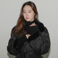 [치즈달] vintage fur coat