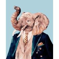 DIY명화그리기세트 코끼리 아저씨 40x50