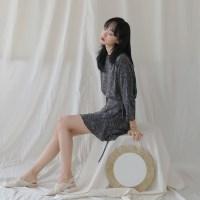 [치즈달] paisley wrap dress