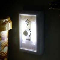 2P LED 조절 스위치 미니 무선 벽면등